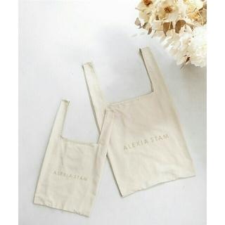 ALEXIA STAM - 【新品】ALEXIASTAM エコフレンドリーバッグ Mサイズ単品 エコバッグ