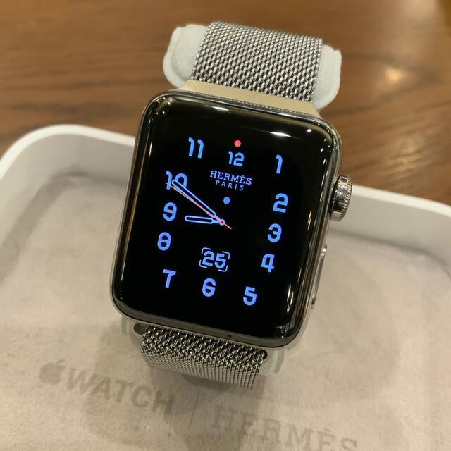Hermes(エルメス)の(正規品) Apple Watch エルメス series3 セルラー 38mm メンズの時計(腕時計(デジタル))の商品写真