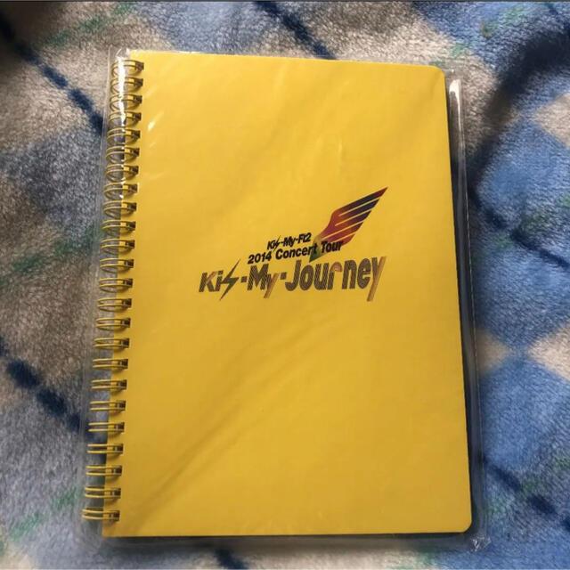 Kis-My-Ft2(キスマイフットツー)のキスマイ Kis-My-Jouney ノート エンタメ/ホビーのタレントグッズ(アイドルグッズ)の商品写真
