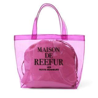 メゾンドリーファー(Maison de Reefur)のメゾンドリーファー クリアバッグ(トートバッグ)
