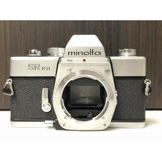 471MR フィルムカメラ入門に最適! Minolta SR 101 ミノルタ