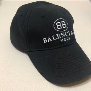Balenciaga - バレンシアガ BB MODE CAP キャップ L ブラック 正規品