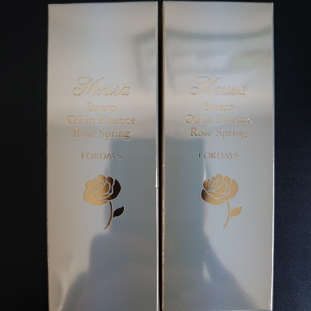 【値下げ❗】【新品フォーデイズ ムーサ スワローオイル美容液 55ml 【2本】 コスメ/美容のスキンケア/基礎化粧品(美容液)の商品写真