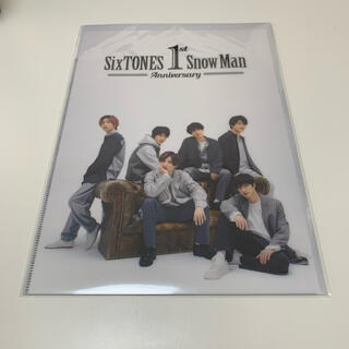 SnowMan SixTONES 1stanniversary クリアファイル