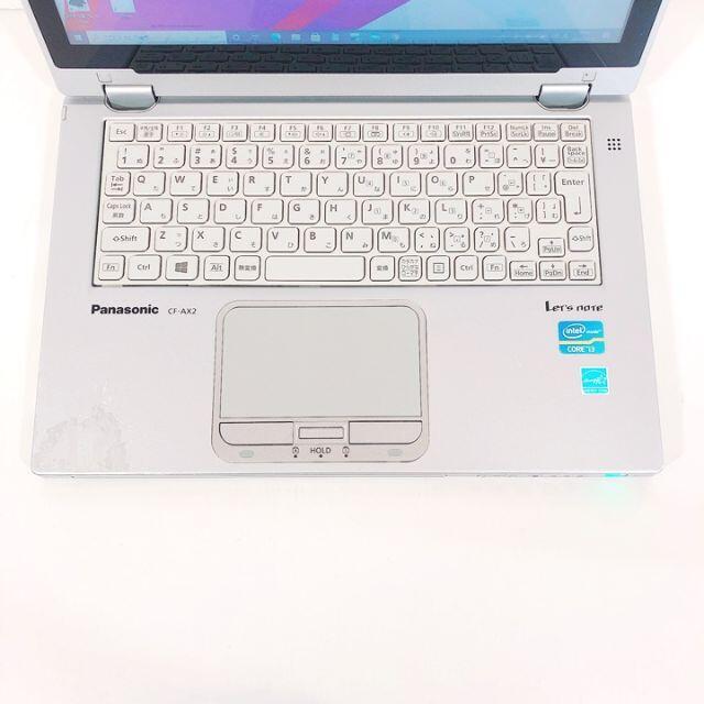 Panasonic(パナソニック)のノートパソコン本体♪SSD♪Webカメラ♪初心者も安心♪Windows10 スマホ/家電/カメラのPC/タブレット(ノートPC)の商品写真