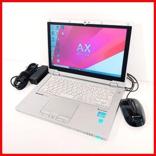 パナソニック(Panasonic)のノートパソコン本体♪SSD♪Webカメラ♪初心者も安心♪Windows10(ノートPC)