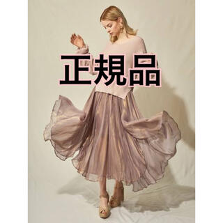 Lily Brown - 【正規品】光沢シアスカート♡スナイデル ミラオーウェン フレイアイディー