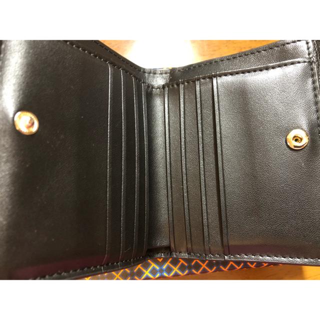 Tory Burch(トリーバーチ)のトリーバーチ ブラックの折財布☆新品  本日のみ値下げ! レディースのファッション小物(財布)の商品写真