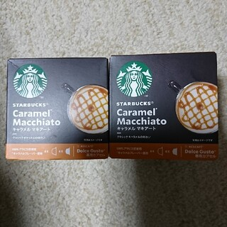 Starbucks Coffee - ネスレ キャラメルマキアート ドルチェ