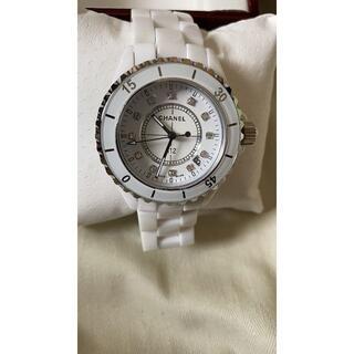 CHANEL - CHANEL 腕時計 セラミック J12