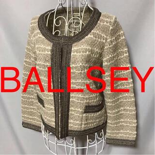 ボールジィ(Ballsey)の★BALLSEY/ポールジィ★極美品★七分袖カーディガン38(M.9号)(カーディガン)