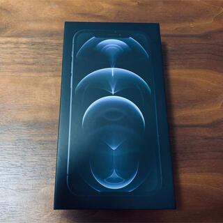 Apple - 【ほぼ新品】iPhone 12 pro パシフィックブルー 128GB