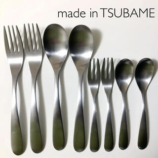 made in TSUBAME   スプーン フォーク 8本 ステンレス