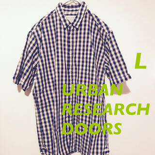 ドアーズ(DOORS / URBAN RESEARCH)のUSED ★ men's  アーバンリサーチドアーズ チェックシャツ(シャツ)