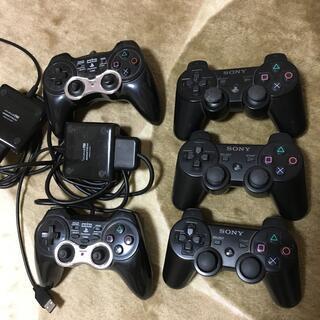 プレイステーション3(PlayStation3)の「ジャンク品」ps3コントローラ純正品×3 非純正品×2(その他)