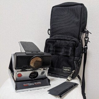 ポーター(PORTER)のSONAR ポラロイドカメラ sx-70 ポーター カメラバッグ付き(フィルムカメラ)
