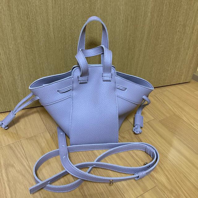 DouDou(ドゥドゥ)のdoudou ミニ2WAYバッグ ラベンダー レディースのバッグ(ショルダーバッグ)の商品写真