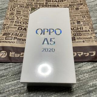 OPPO - OPPO A5 2020  グリーン 新品未開封 送料無料