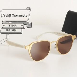 Yohji Yamamoto - 未使用 ヨウジ ヤマモト クラウンパント ウェリントン サングラス