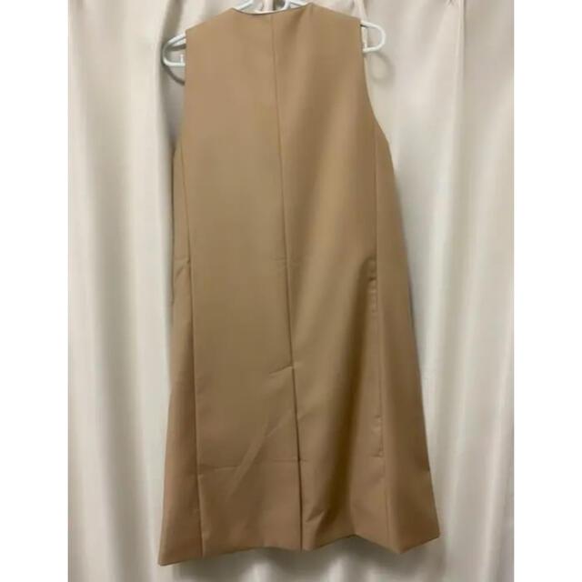 トレンチコート 風 ジレ レディースのジャケット/アウター(トレンチコート)の商品写真