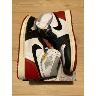 NIKE - UNION Air Jordan 1 Black Toe 26cm