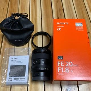 SONY - 【美品 最終値下】SONY FE 20mm F1.8 G SEL20F18G