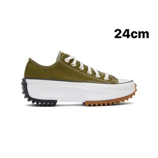 CONVERSE - 24cm CONVERSE RUN STAR HIKE LOW グリーン