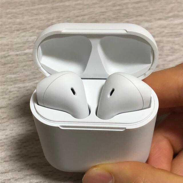 ワイヤレスイヤホン Bluetoothイヤホン スマホ/家電/カメラのオーディオ機器(ヘッドフォン/イヤフォン)の商品写真