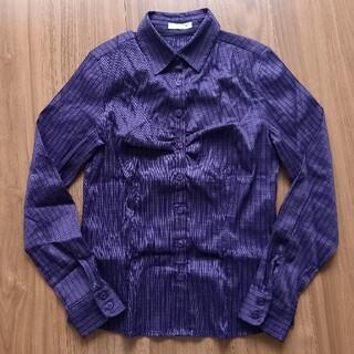 NARACAMICIE - ナラカミーチェ 長袖ストライプシャツ