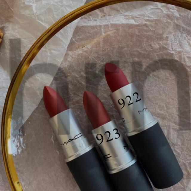 MAC(マック)のMac リップ 3本セット 訳あり コスメ/美容のベースメイク/化粧品(口紅)の商品写真