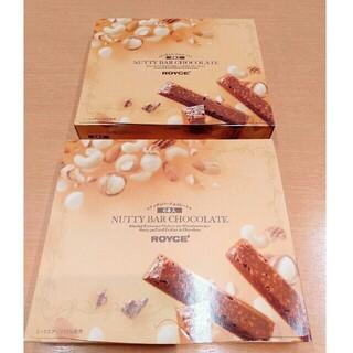 2箱 ロイズ ナッティバーチョコレート 6本入 北海道限定 土産 お取り寄せ(菓子/デザート)