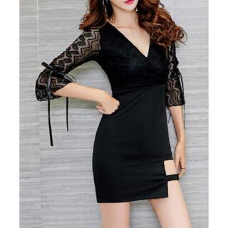 【本日限定セール】DURAS系 韓国ファッション セクシーレースキャバドレス