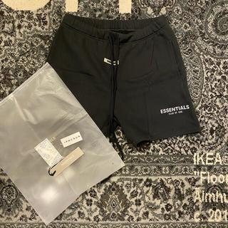 FEAR OF GOD - essentials sweat shorts black
