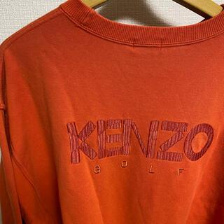 KENZO - kenzo golf 古着 スウェット ケンゾウ