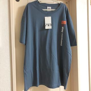 ZARA - 新品タグ付き✨ザラ オーバーサイズ ビッグTシャツ ロンT