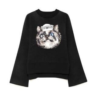 ファーファー(fur fur)のFURFUR セーラーキャットセーター(ニット/セーター)