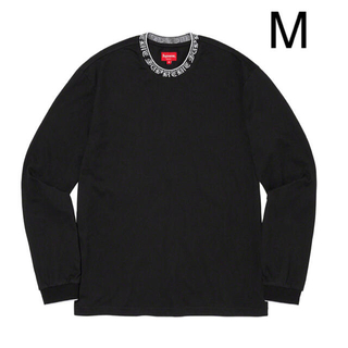 Supreme - Supreme old English collar logo L/S M