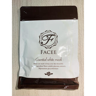 フェイシー FACEE エッセンシャルホワイトマスク 10枚入り フェイスパック(パック/フェイスマスク)
