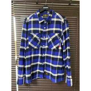 W)taps - wtaps チェックシャツ ネルシャツ UNION L/S
