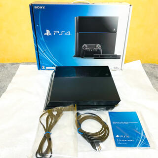 PlayStation4 - ☆美品☆ PS4 プレステ4 本体 CUH-1000AA01 500G ブラック