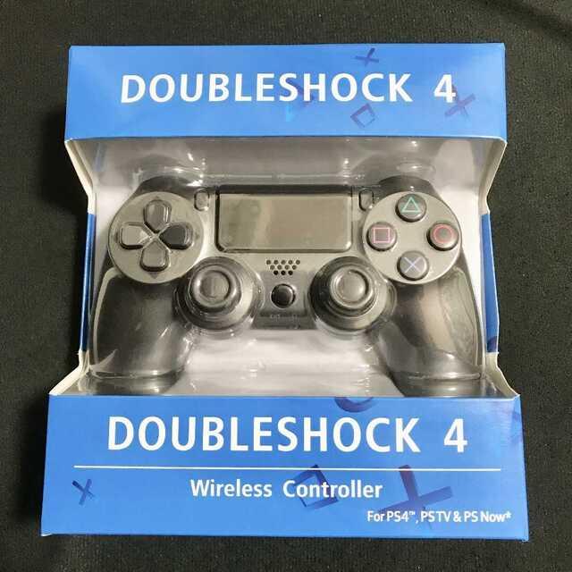 PS4 ワイヤレスコントローラー ダークグレー 濃い灰色 エンタメ/ホビーのゲームソフト/ゲーム機本体(その他)の商品写真