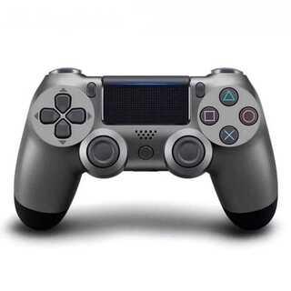 PS4 ワイヤレスコントローラー ダークグレー 濃い灰色