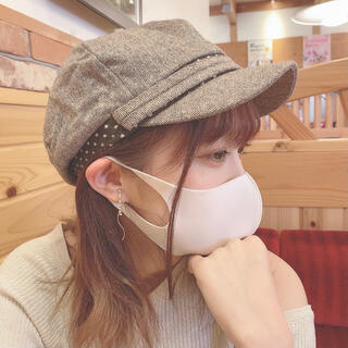CA4LA - ¥2,000引き⚠️小顔効果抜群!ベルト付きキャスケット♥