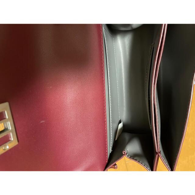 Charles and Keith(チャールズアンドキース)のチャールズアンドキース ショルダーバッグ ボルドー レディースのバッグ(ショルダーバッグ)の商品写真