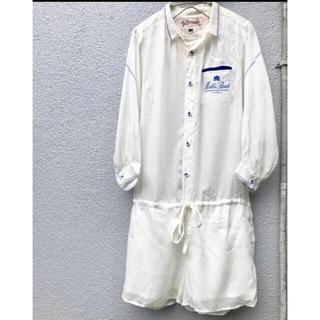 Lochie - Vintage セーラー マリン オールインワン オーバーオール ミリタリー