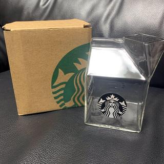 スターバックスコーヒー(Starbucks Coffee)の海外限定 ガラスタンブラー 牛乳パック型台湾スターバックス 夏に可愛くてオススメ(タンブラー)