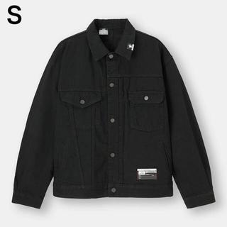 GU ミハラヤスヒロ MIHARA デニムジャケット Gジャン S ブラック