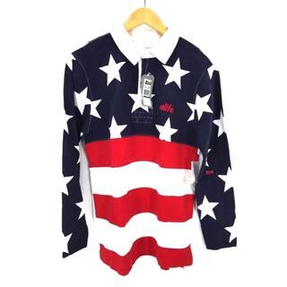 エーライフ(ALIFE)のALIFE(エーライフ) 星条旗柄 ラガーシャツ メンズ トップス ポロシャツ(ポロシャツ)