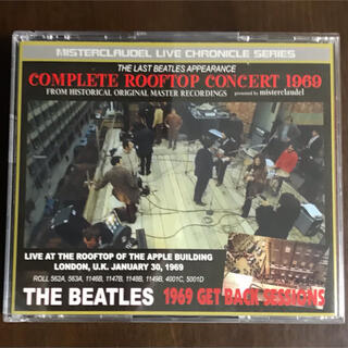 ビートルズ ルーフトップコンサート1969 コレクターズCD