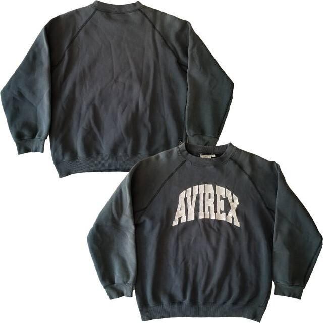 AVIREX(アヴィレックス)のAVIREX U.S.A arch logo crewneck sweat メンズのトップス(スウェット)の商品写真